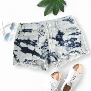 No Boundaries Frayed Denim Shorts